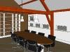 Verbouw kantoorrunits Maarsbergen-vergaderruimte