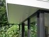 Nieuwbouw paviljoen Driebergen-detail dakoverstek